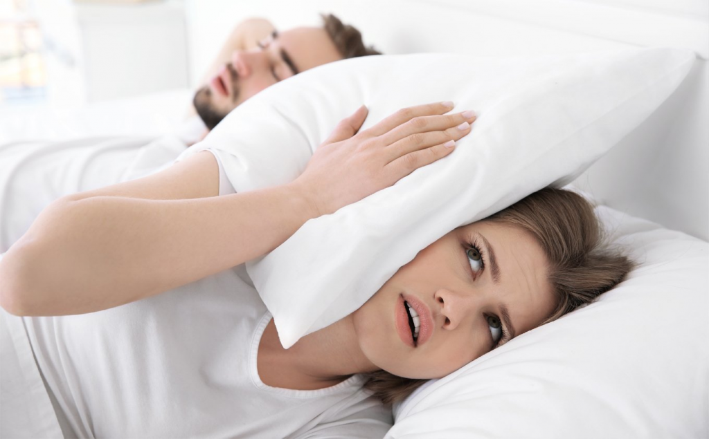 How to Stop a Snoring Man